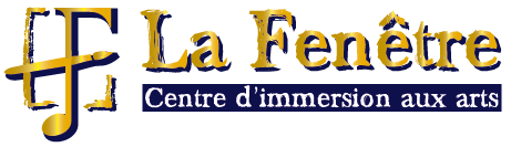 La fenetre, centre d'immersion aux arts Logo